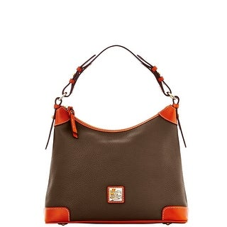 Dooney & Bourke Pebble Grain Hobo (Introduced by Dooney & Bourke at $228 in Jun 2014) - brown tmoro