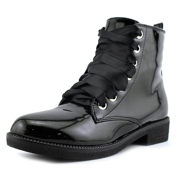Dirty Laundry Shout Out Women Round Toe Synthetic Black Ankle Boot