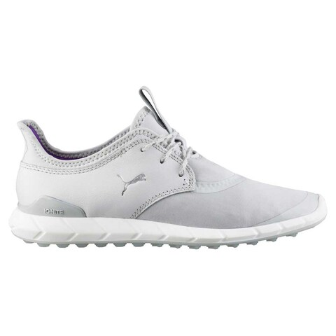 Puma Women's Ignite Spikeless Sport Golf Shoes Grey/White 189422-02
