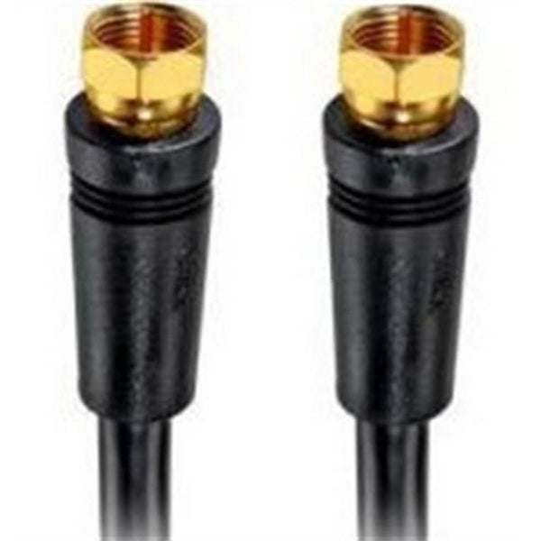 RCA VH625R 25 ft. Rg-6U Coaxial Cable With Gold F Connectors - Black