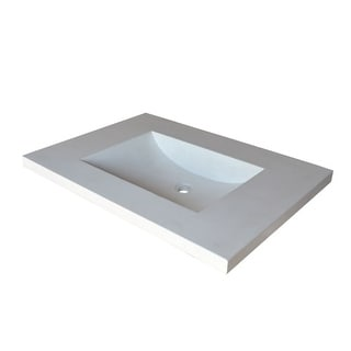 """Native Trails NSVNT24 Palomar 24-1/2"""" NativeStone Vanity Top with Integrated Basin"""