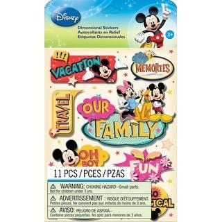 Disney Dimensional Stickers-Mickey Family