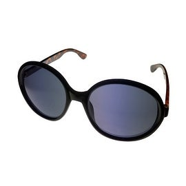 Kenneth Cole Reaction Womens Sunglass Round Black Plastic, Gradient KC1229 1A - Medium