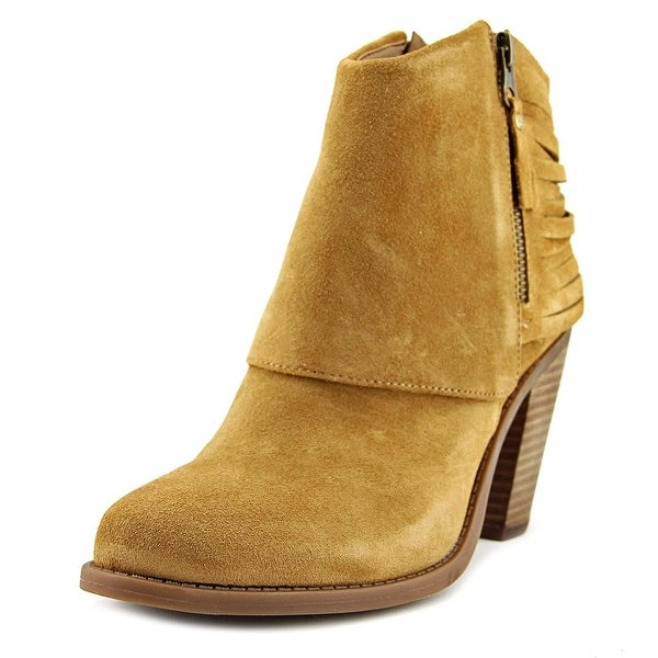 Jessica Simpson Cerrina Women Pointed Toe Suede Brown Ankle Boot