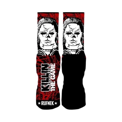 Rufnek Michael Myers Killin' the Game 2.0 Men's Socks
