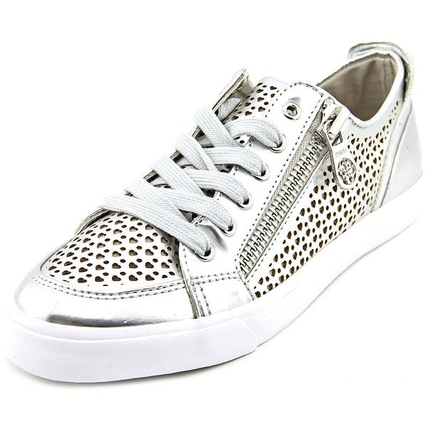 Guess Gerlie Women Leather Silver Fashion Sneakers