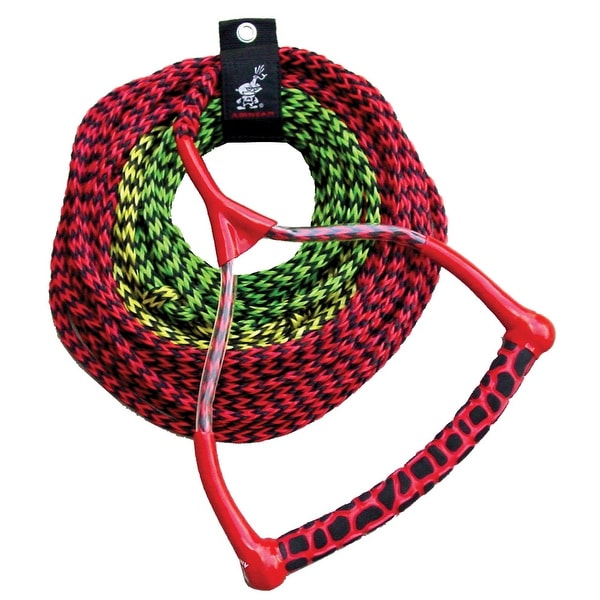 Airhead performance radius handle ski rope 3 section -