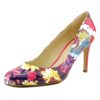 Marc Fisher Universe Women Round Toe Patent Leather Heels