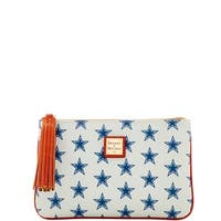 Dooney & Bourke NFL Dallas Cowboys Carrington Pouch (Introduced by Dooney & Bourke at $98 in Sep 2017)