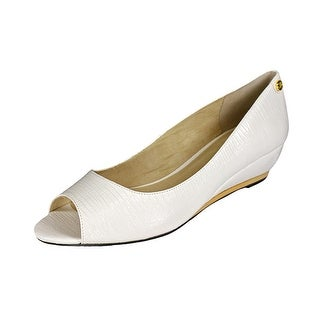 J. Renee Neda Women Open Toe Synthetic Wedge Heel