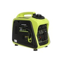 2200-Watt Gas Powered Digital Portable Inverter Generator, RV Ready - Green - N/A