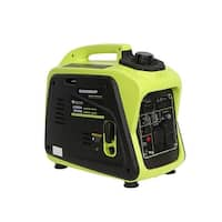 2200-Watt Gas Powered Digital Portable Inverter Generator, RV Ready - Green