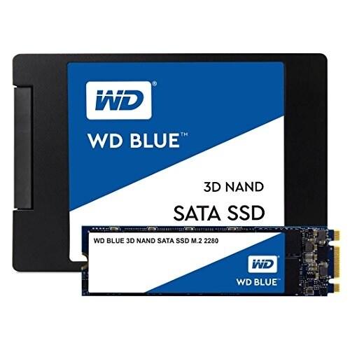 Western Digital - 500Gb Wd Blue 3D Nand Sata Ssd.M