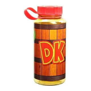 Donkey Kong Barrel Water Bottle - Multi