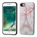 Insten Pink Eiffel Tower Hard Snap-on Dual Layer Hybrid Case Cover For Apple iPhone 7 - Thumbnail 0