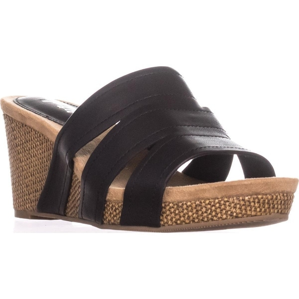 a8d2676d5e2 Shop SC35 Juliaa Slip-On Wedge Sandals