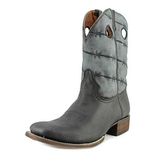 Rebel 5013   Square Toe Leather  Western Boot