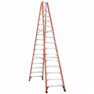 Louisville Ladder Brute 375 Fiberflass 10 ft. Twin Stepladder