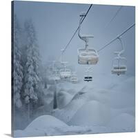 Ernst Fusser Premium Thick-Wrap Canvas entitled Snow