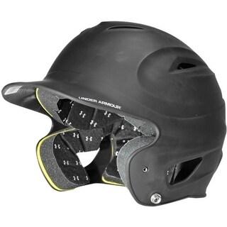 Under Armour Adult Solid Batting Helmet (Black)