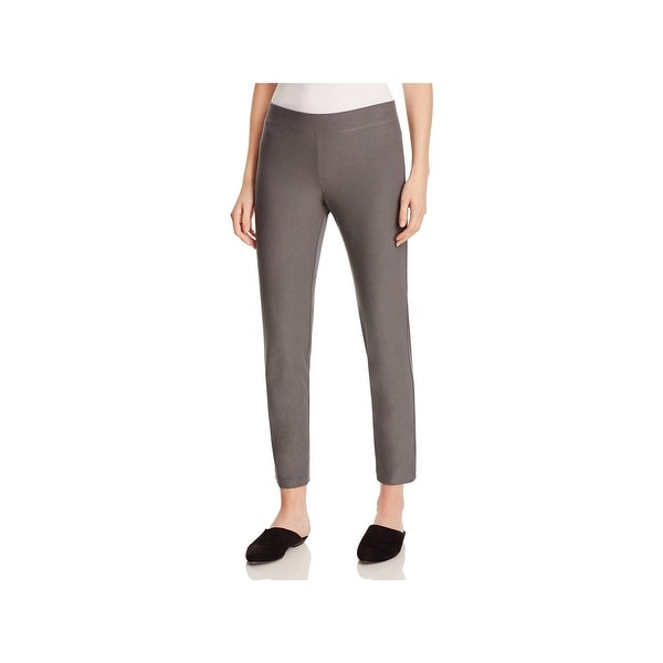 57c31374d6c79 Shop Eileen Fisher Womens Ankle Pants Slim Fit Pull On - S - Free ...