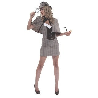 OR550062SD Morris Costumes Private Eye ,S