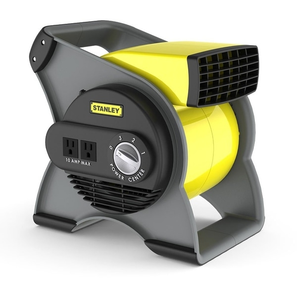 Lasko 655704 Stanley High Velocity Blower Fan - Yellow/Black