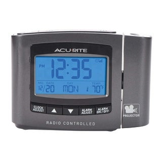 AcuRite Atomic Projection Clock Projection Clock