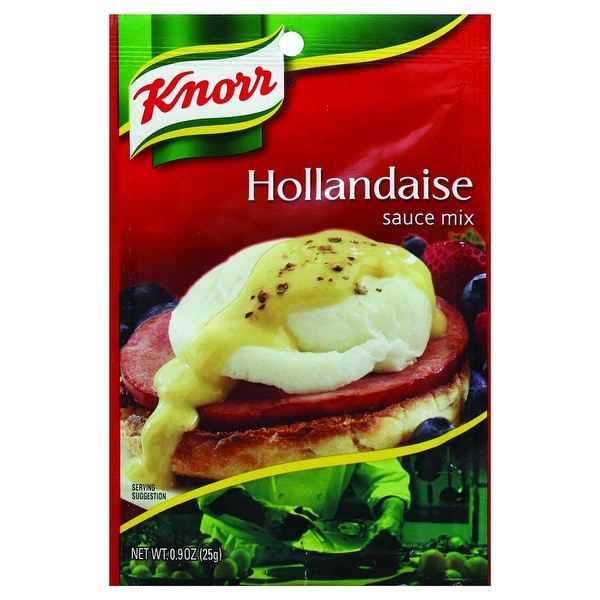 Knorr Sauce Mix - Hollandaise - .9 oz - Case of 12 - 2 Pack