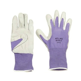 Atlas Glove 3704CS-06.RT Nitrile Touch Gloves, #370, Small, Assorted Color