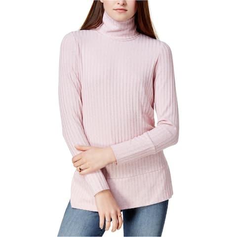 Kensie Womens Textured Basic T-Shirt