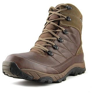 The North Face Chilkat Men Round Toe Leather Brown Winter Boot