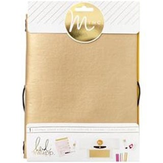 American Crafts HS313147 6 x 9 in. Minc Journal Cover - Gold