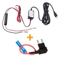 Spy Tec Dash Cam Hardwire Fuse Kit With Micro Usb  For Less Rf Interference
