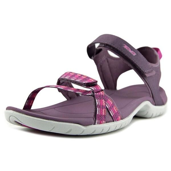 Teva Verra Women  Open-Toe Synthetic Purple Sport Sandal