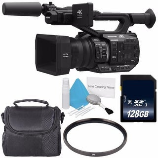 Panasonic AG-UX90 4K/HD Professional Camcorder + Carrying Case Bundle