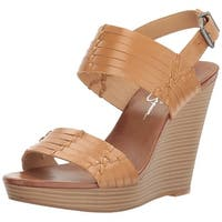 Jessica Simpson Womens Jayleesa Open Toe Casual Slingback Sandals