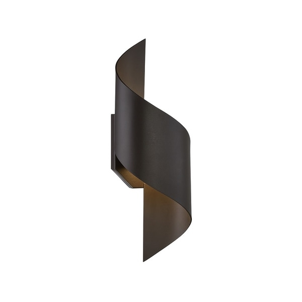 "Modern Forms WS-W34517 Helix 1-Light LED Indoor / Outdoor Wall Sconce - 6"" Wide - N/A"