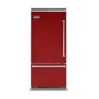 Viking VCBB5363EL 36 Inch Wide 20.4 Cu. Ft. Built-In Bottom Mount Refrigerator with ProChill Temperature Management and Left