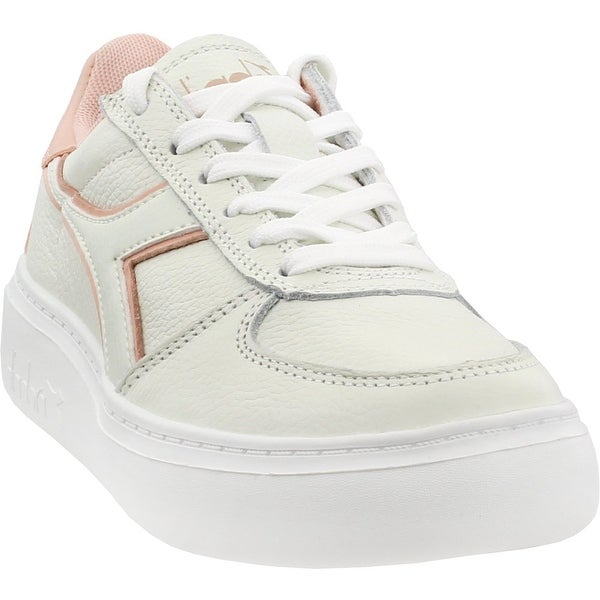 0d05f25c2c Shop Diadora Womens B.Elite Leather Wide Casual - Free Shipping On ...