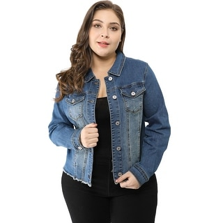 Link to Women's Classic Plus Size Denim Jacket Similar Items in Women's Plus-Size Clothing