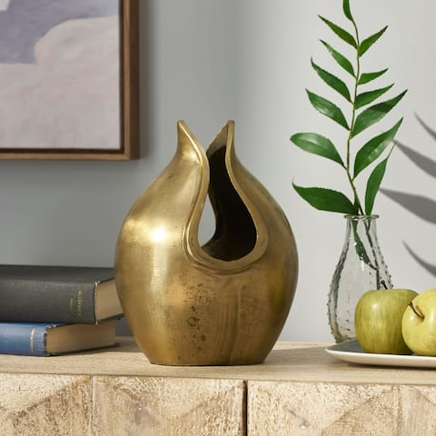 Sasser Indoor Aluminum Handcrafted Decorative Vase by Christopher Knight Home