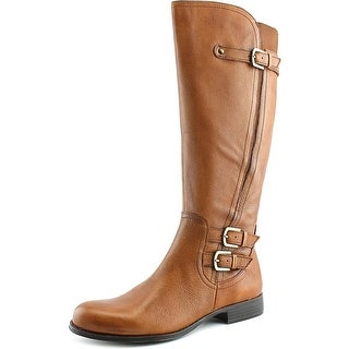 Naturalizer Jenson Women  Round Toe Leather Brown Knee High Boot