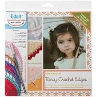 Fancy Crochet Edges - Edgit Piercing Crochet Hook & Book Set