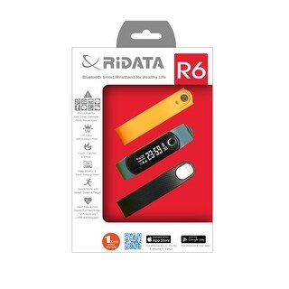 Spytec Ridata R6 Activity Tracker, Oled Display, Bluetooth 4.0 Le
