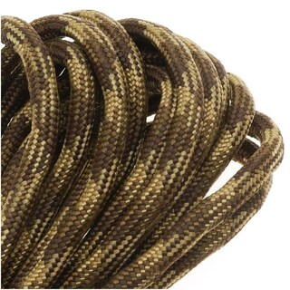 Paracord 550 / Nylon Parachute Cord 4mm - Desert Camo (16 Feet/4.8 Meters)
