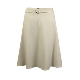 Nine West Women's A-Line Skirt with Belt