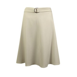 Nine West Women's A-Line Skirt with Belt