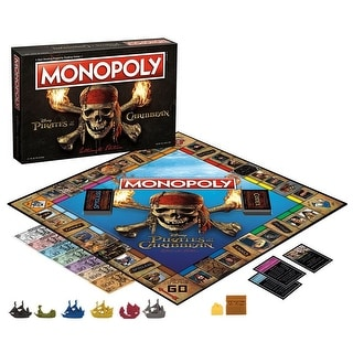 Pirates of the Caribbean 2017  Monopoly Board Game