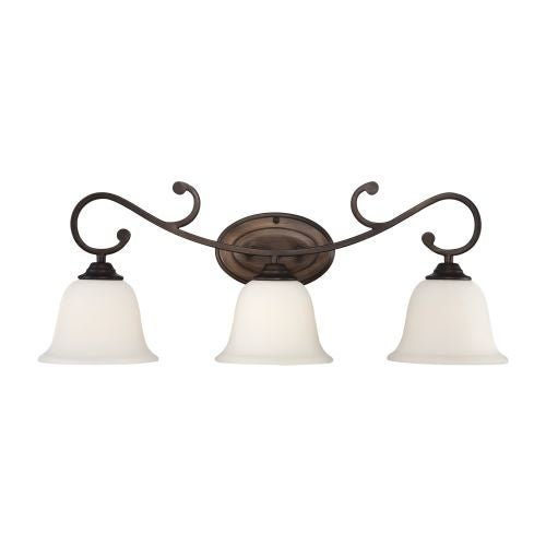 Millennium Lighting 1283 Fulton 3 Light Bathroom Vanity Light
